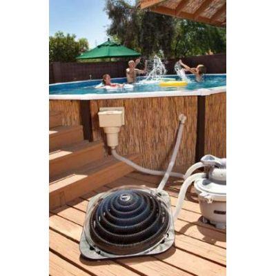 Chauffage piscine solaire pour votre piscine hors sol for Rechauffeur piscine