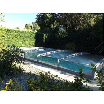 Abri de piscine télescopique 18, 30 ou 50 cm
