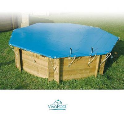 Bâche d'hiver piscine bois VIVA-POOL