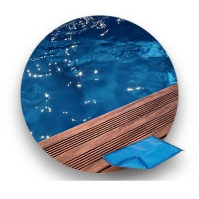 Bâche à bulle piscine bois SUNBAY