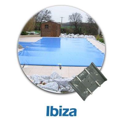 bâche à barres pour piscine IBIZA