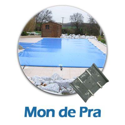 Bâche à barres pour piscine Mon de pra