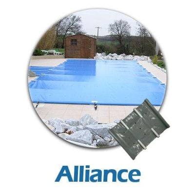 bâche à barres pour piscine Alliance