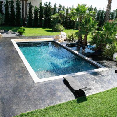 Dalle extérieur piscine