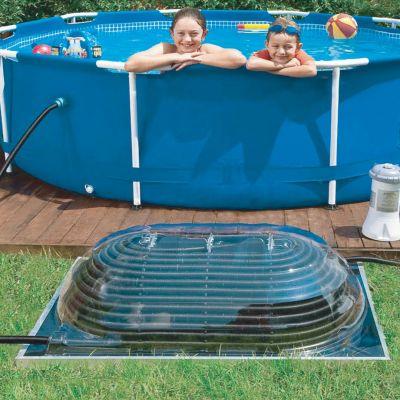 Chauffage piscine solaire pour votre piscine hors sol - Dome piscine hors sol ...