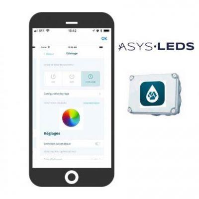 ASYS LEDS : Pilote votre éclairage LED sur votre SmartPhone