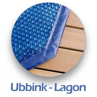 Bâche à bulle piscine bois - Ubbink - Exclusif