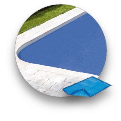 Bâche d'été 400 µ compatible piscine CARON