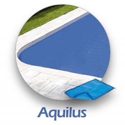 Bâche d'été 400 µ compatible piscine AQUILUS