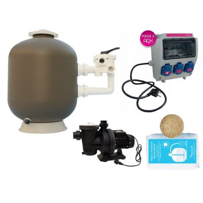 Kit filtration piscine EASY PLUG by AQUALUX