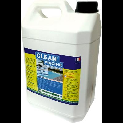 Clean piscine : Nettoyant Détachant Dégraissant