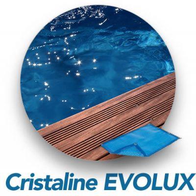 Bâche d'été GEOBUBBLE piscine bois Cristaline / Waterclip