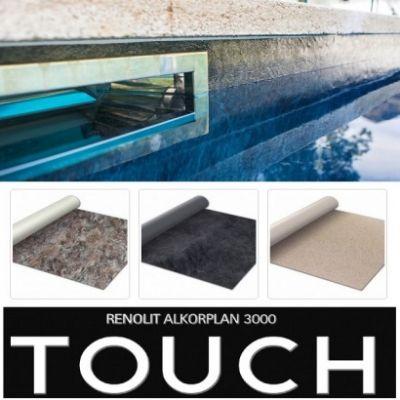 Liner armé Alkorplan 3000 Touch 3D : 200/100ème