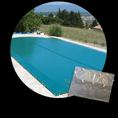 Bâche d'hiver compatible piscine Desjoyaux ovoïde