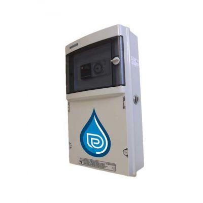 Coffret électrique piscine Distri-Box + Projecteur 300 W