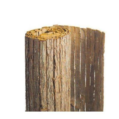 Clôture naturelle écorce de pin