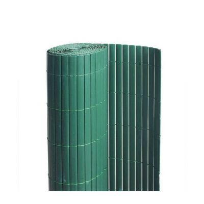 Canisse PVC double face : couleur Vert