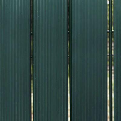 Kit de lames en PVC rigides Vert Foncé