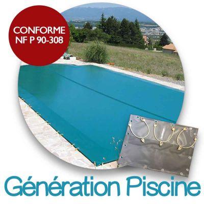 Couverture d'hiver compatible Génération piscines