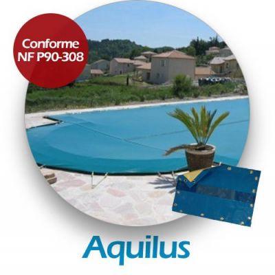 Couverture d'hiver compatible piscine AQUILUS