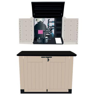 Coffre en PVC hors-sol : DISTRI-BOX