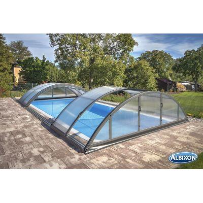 Abri piscine en kit prix discount chez albixon for Piscines dome