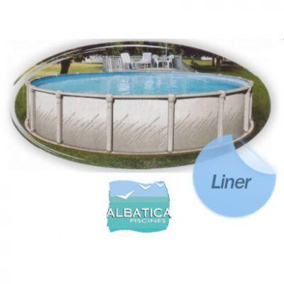 Liner piscine hors sol compatible Albatica