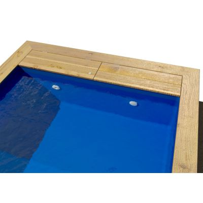 Liner piscine bois Bear County : confort