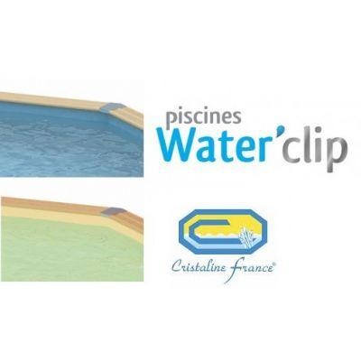 Liner piscine bois Waterclip / Cristaline