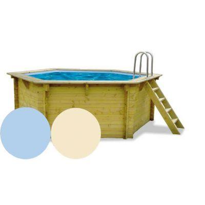 Liner piscine bois AQUALUX EDG