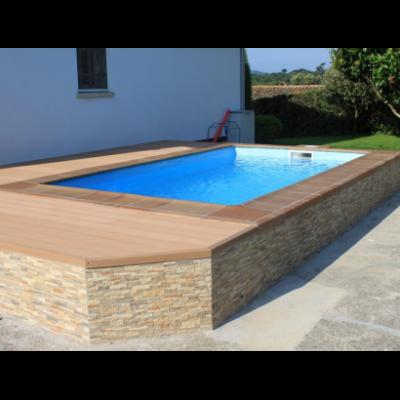 Petite piscine en coque MINIGRAF 45