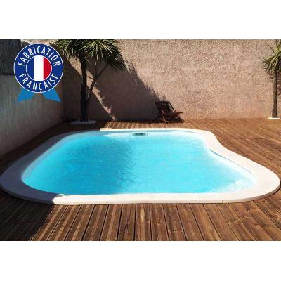 piscine coque OLYMPIE 6.5 x 3.4 m