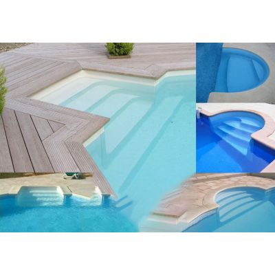 Escalier acrylique RED POOL