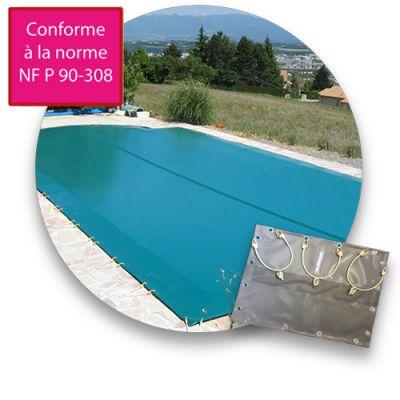 Bâche d'hiver piscine compatible OKEANOS