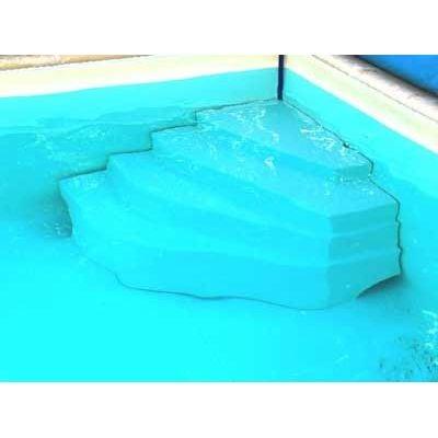 escalier piscine large gamme acrylique ou poser dans. Black Bedroom Furniture Sets. Home Design Ideas
