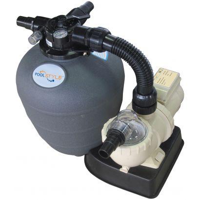 groupe filtration piscine hors sol 6 8 m3 h poolstyle. Black Bedroom Furniture Sets. Home Design Ideas