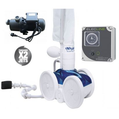 Pack robot polaris 280 surpresseur coffret polaris for Polaris 280 surpresseur