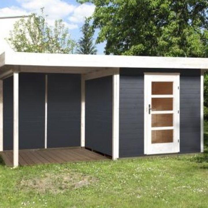 Abri jardin en bois Lounge taille 2 et 3