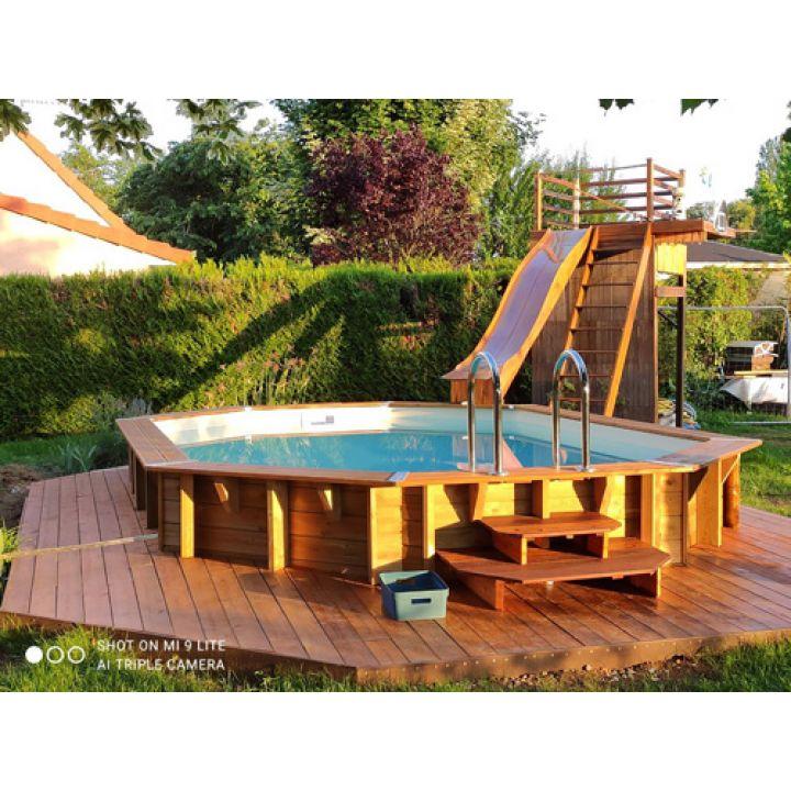 piscine bois nortland fidji