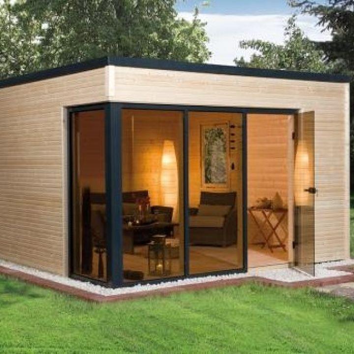 Abri de jardin en bois CUBILIS DESIGN taille 1 et 2 - WEKA