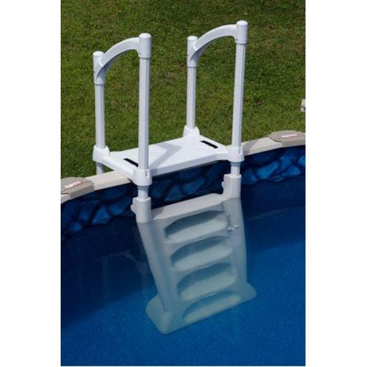 echelle s curitaire h2o pour piscine hors sol. Black Bedroom Furniture Sets. Home Design Ideas