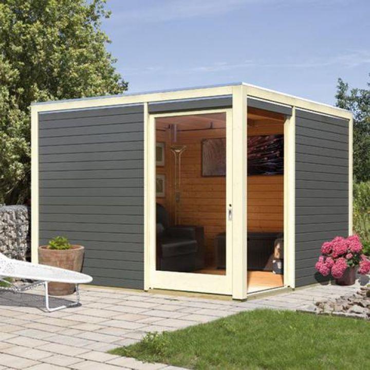 abri de jardin cubus karibu. Black Bedroom Furniture Sets. Home Design Ideas