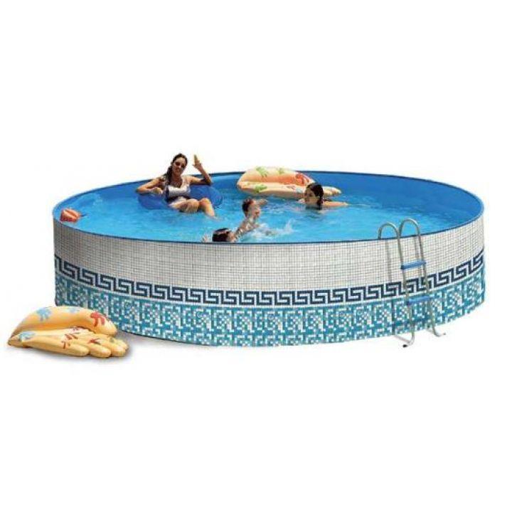 piscine hors sol en acier promo mosaiko. Black Bedroom Furniture Sets. Home Design Ideas