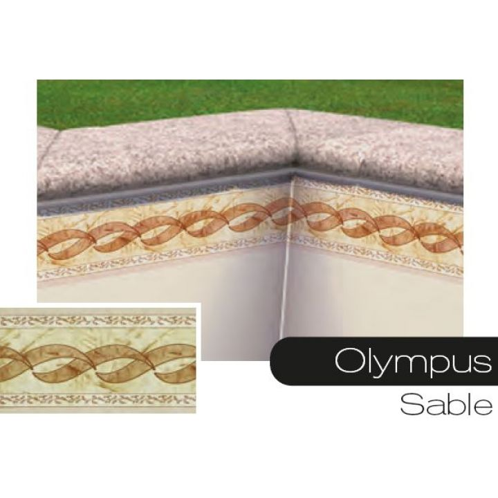 frise pour liner piscine olympus sable. Black Bedroom Furniture Sets. Home Design Ideas