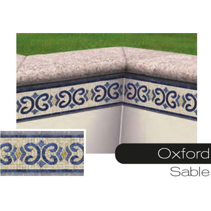frise pour liner piscine oxford sable. Black Bedroom Furniture Sets. Home Design Ideas