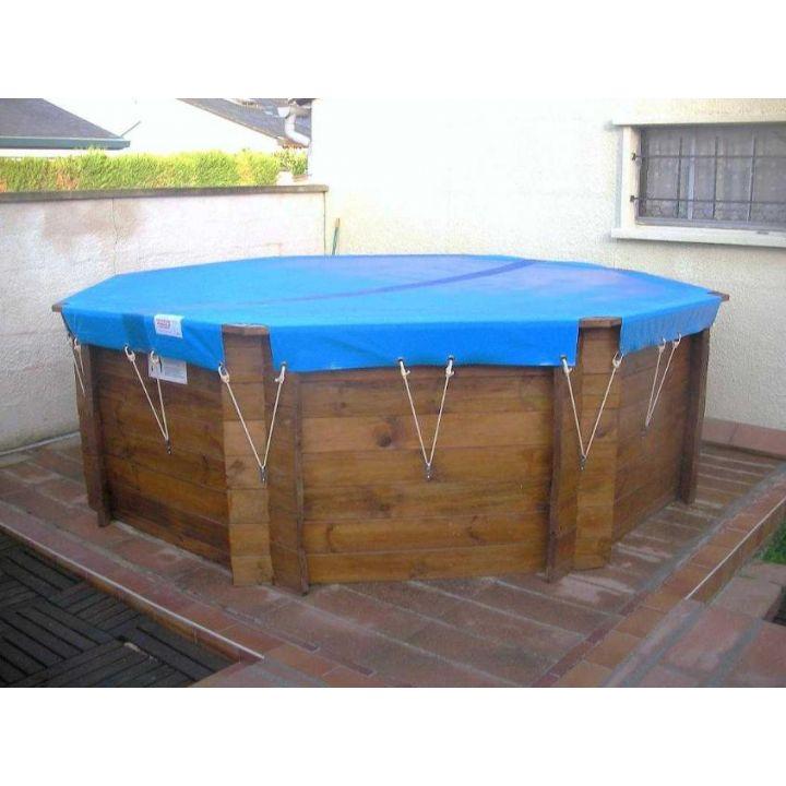 couverture d 39 hiver zephir pour les piscines bois hors sol. Black Bedroom Furniture Sets. Home Design Ideas