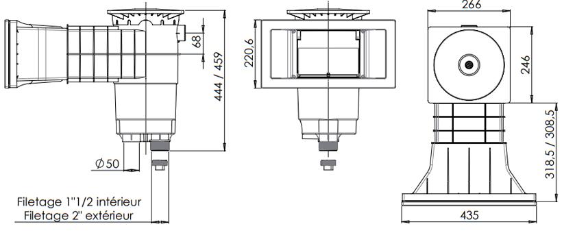 skimfiltre-weltico-a400-design-schema