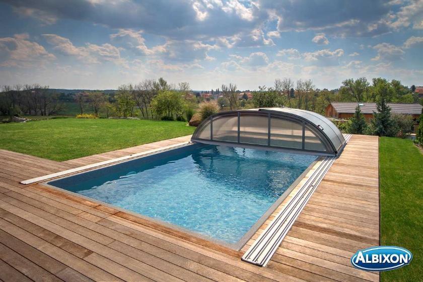 abri piscine bas dallas distripool. Black Bedroom Furniture Sets. Home Design Ideas