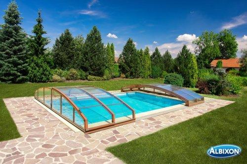 Abri piscine casablanca infinity distripool for Accessoire piscine 62