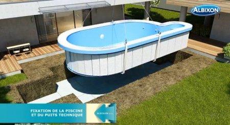 coque piscine acier